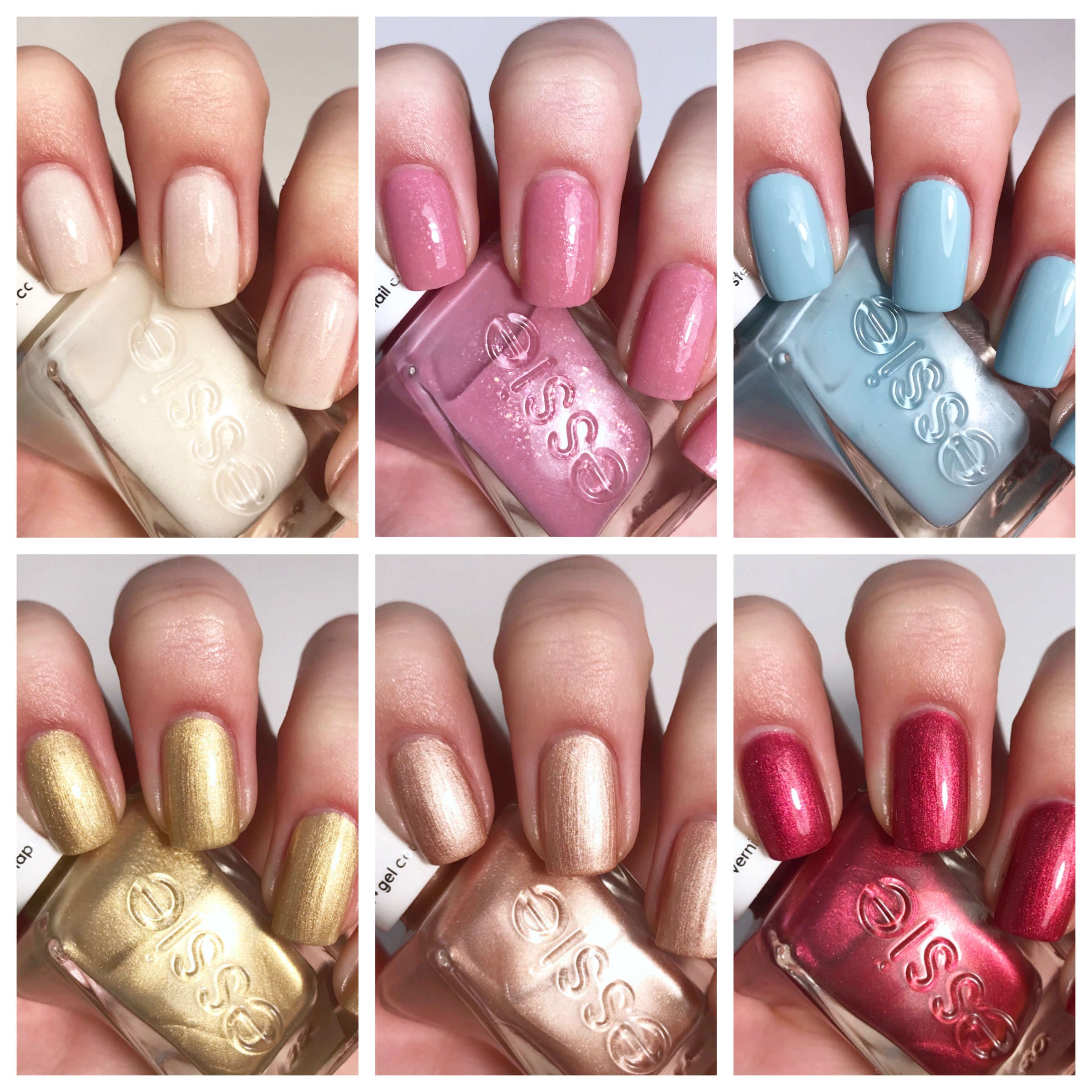 essie gel couture wedding collection 2018 – essiebuff